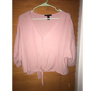 NWOT Pink Top